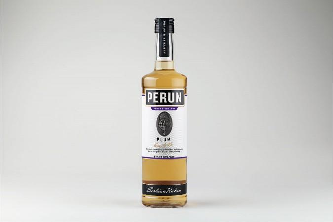 Perun Plum Brandy 1000ml